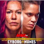 GLASINE! Cris Cyborg  protiv Amande Nunes na UFC224!