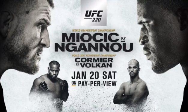 Odbrojavanje za UFC220! (VIDEO)