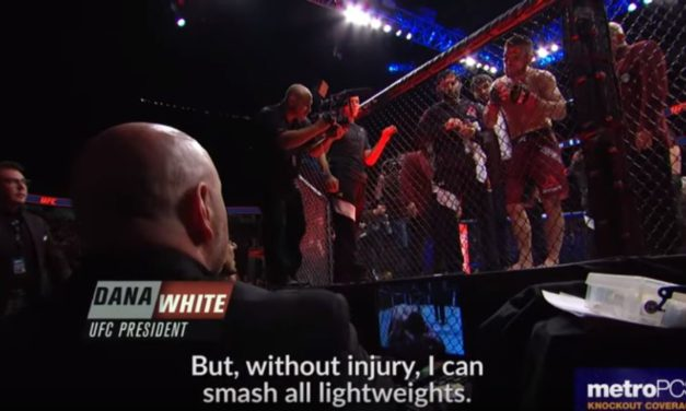 """The Trill and Agony"" sa UFC219! (VIDEO)"