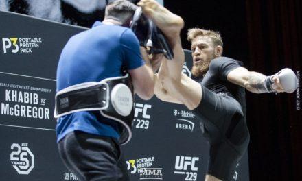 Otvoreni trening uoči UFC229 sa Conorom McGregorom (VIDEO)
