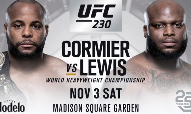 POVRATAK NA UFC 230 (VIDEO)