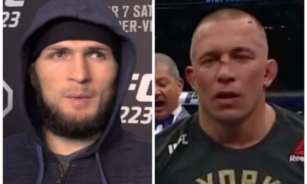UFC sprema spektakl: Habib Nurmagomedov protiv Georgesa St. Pierra (FOTO+VIDEO)