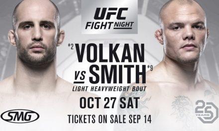 Smith pobedio Oezdemira: REZULTATI UFC NIGHT 138 (FOTO)