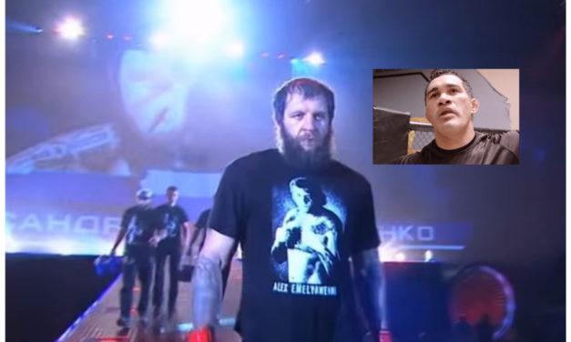 Alexander Emelianenko zbog povrede odbio da se bori sa Barrosom (VIDEO)