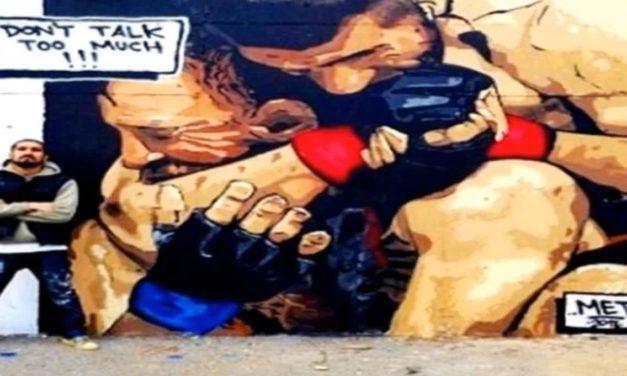 Habibov mural kako davi Konora urađen u Istanbulu! (VIDEO)
