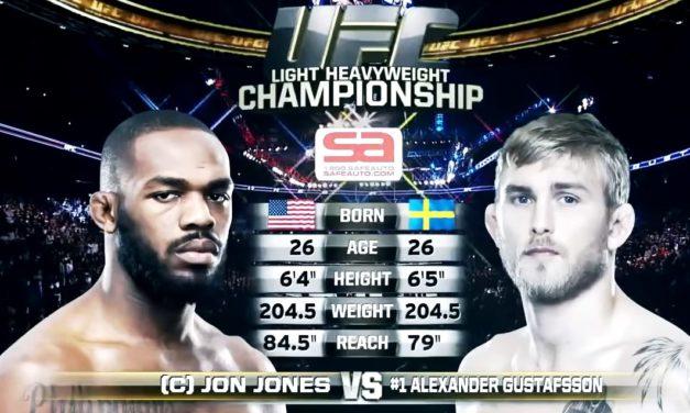 Jon Jones vs. Alexander Gustafsson! UFC objavio snimak prve borbe (VIDEO)