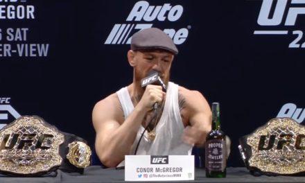 McGregor sa konferenciji poručio: Zaradiću milijardu dolara do 35. godine! (VIDEO+FOTO)