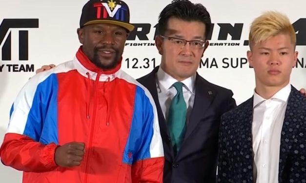 Mayweather i Nasukawa će se ipak boriti? Floyd: Biće to najplaćenija egzibicija ikad (VIDEO)