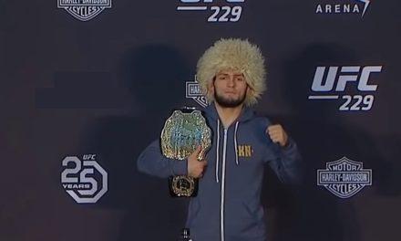 Šampionski pojas UFC Nurmagomedova biće izložen u pet ruskih gradova (VIDEO)