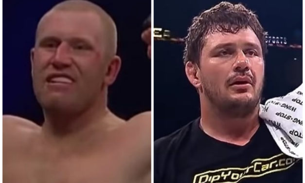 Sergei Kharitonov i Matt Mitrione u februaru 2019. (VIDEO)