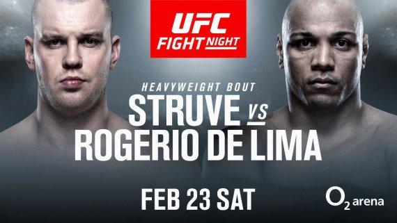 Stefan Struve uPragu protiv Marcosa Rogerio de Lime (VIDEO)