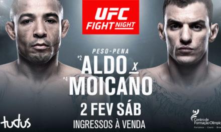 Jose Aldo će se sastati sa Renatom Moicanom na UFC Fight Night 144 (VIDEO)