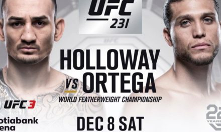UFC 231: Sledi okršaj  Holloway – Ortega (VIDEO)